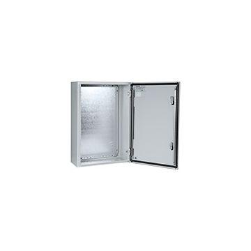 Eldon MAS schakelaarkast leeg, staal, grijs, (hxbxd) 800x800x300mm uitvoering