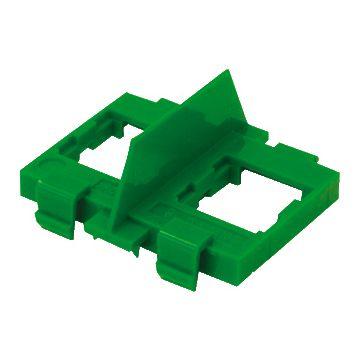 ABB Hafobox DR outlet-component kunststof, groen, samenstelling