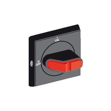 Busch-Jaeger OHB bedieningsknop voor vermogensschakelaar, zwart, afsluitbaar, soort vergrendeling
