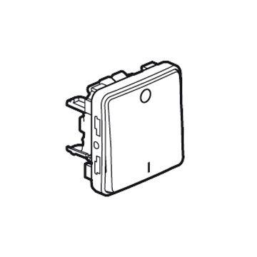 Legrand BTicino Plexo IP55 installatieschakelaar kunststof, grijs, type schakelaaring 2-polig