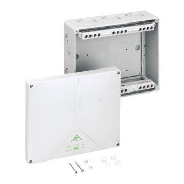 Spelsberg Abox klemmenkast, kunststof, grijs, (lxbxd) 250x200x115mm 1 aansluitingklemmen