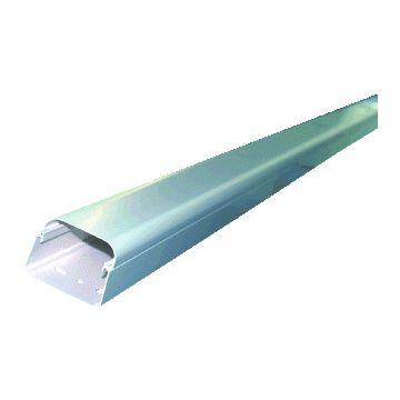 Canalit AC leidingkanaal zwakstroom, kunststof, zuiver wit, hoogte 60mm breedte