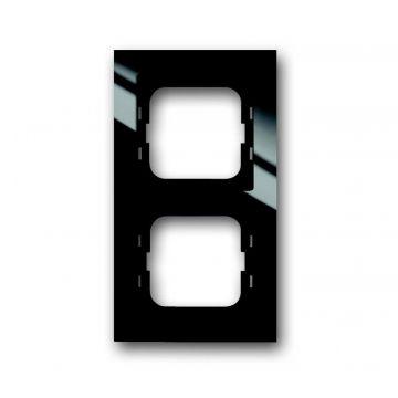 Busch-Jaeger Busch-axcent afdekraam 2-voudig, zwart