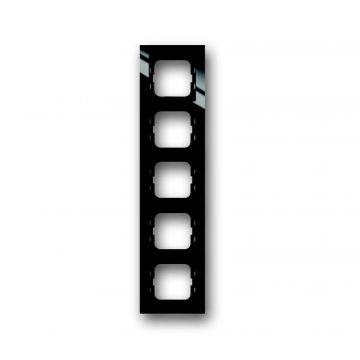 Busch-Jaeger Busch-axcent afdekraam 5-voudig, zwart