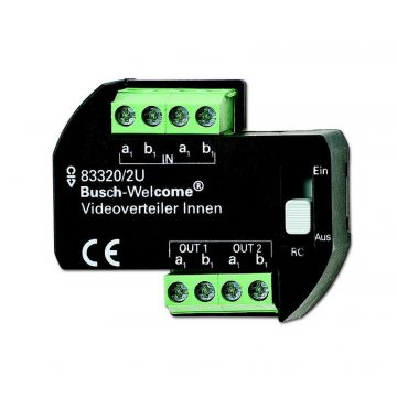 Busch-Jaeger Busch-Welcome Video videoverdeler voor bewakingssysteem, (hxbxd)