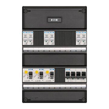 Eaton installatiekast, (hxbxd) 330x220x79mm 1 fasen, beveiliging
