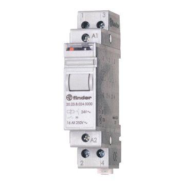 Finder bistabiel relais, DIN-rail, breedte in module-eenheden 1, inbouwdiepte