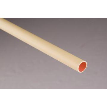Pipelife Polivolt kunststof installatiebuis, PVC. UV-gestabiliseerd, crème