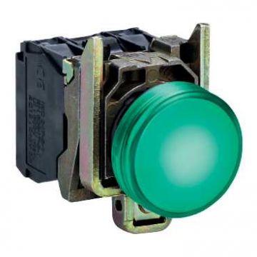 Schneider Electric T signaallamp, 1 signaallampen, lens groen, uitvoering fitting