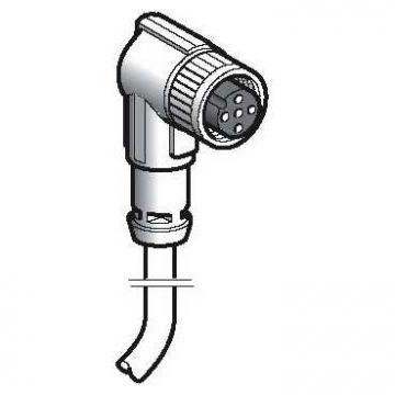 Schneider Electric T sensor/actorkabel met connector, 4 polen, uitvoering elektrische