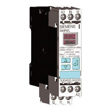 Siemens 3UG stroomrelais, (hxbxd) 92x22.5x91mm uitvoering elektrische aansluiting