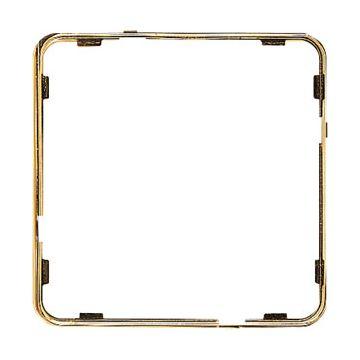 JUNG CD Plus sierrand kunststof, goud, uitvoering applicatielijst