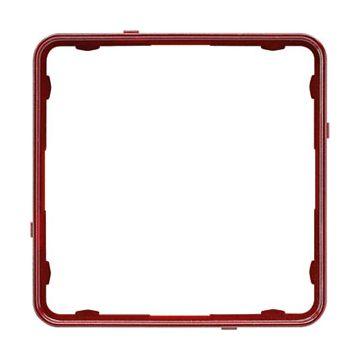 JUNG CD Plus sierrand kunststof, rood, uitvoering applicatielijst