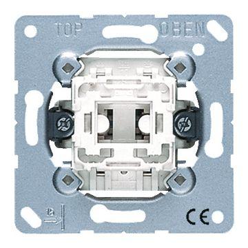 JUNG basiselement installatieschakelaar metaal, roestvaststaal (RVS), type