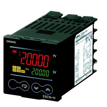 Omron E5CN H digitale temperatuurregelaar, temperatuurbereik -200-+1300°C