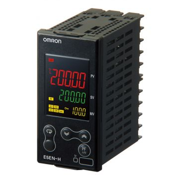 Omron E5EN H digitale temperatuurregelaar, temperatuurbereik -200-+1300°C