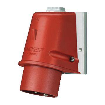 Mennekes CEEform Rood cee-toestelcontactdoos, kunststof, IEC-stroomsterkte