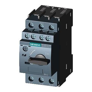 Siemens motorbeveiligingsschakelaar, instelbereik overbelastingsbeveilig 3.5