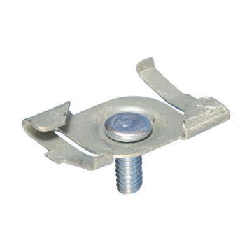 Erico CADDY 4G bevestigingsklem draaiklem, staal, materiaal eigen kleur, aansluitingwijze