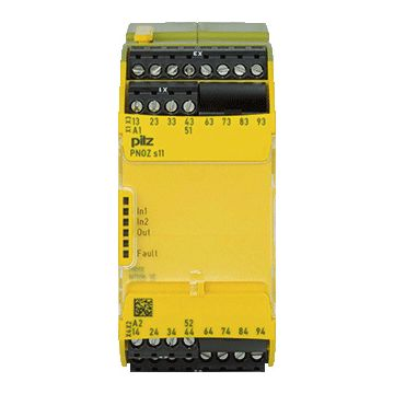 Pilz PNOZ PNOZ s11 relais voor veiligheidsstroomcircuits, uitvoering uitbreidingsapparaat