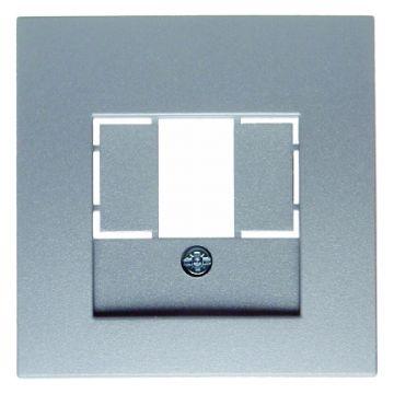 Hager berker B.1/B.7 bedieningselement/centraalplaat, aluminium