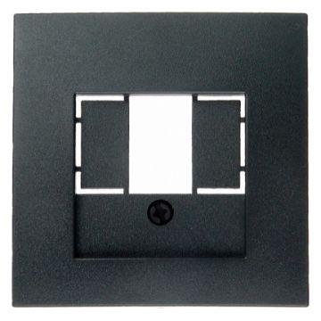 Hager berker B.1/B.3/B.7 bedieningselement/centraalplaat, antraciet