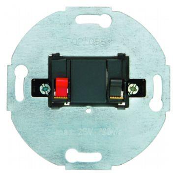 Hager berker bedieningselement/centraalplaat kunststof/metaal, wit, uitvoering