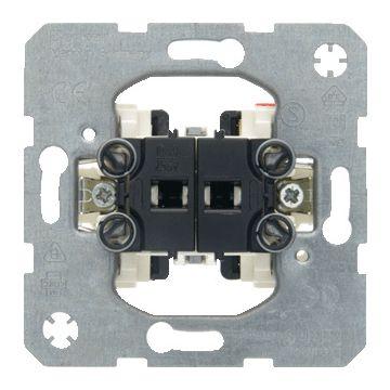 Hager berker installatieschakelaar type schakelaaring serieschakelaar bedieningswijze