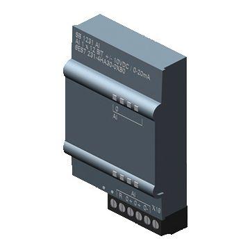 Siemens S7 1200 plc analoge in- en uitgangsmodule, (hxbxd) 62x38x21mm ingangssignaal