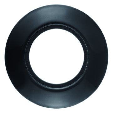 Hager berker 1930 Porselein afdekraam porselein, zwart, 1