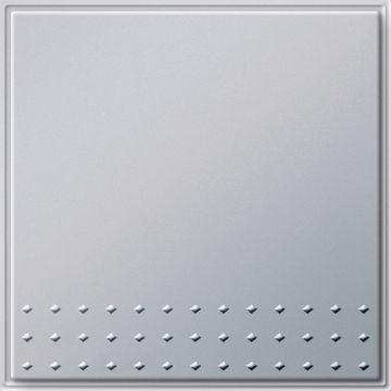 Gira TX44 enkel drukcontact, overig, aluminium, samenstelling basiselement