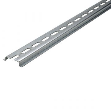 JMV din-rail volgens EN 50022, staal, (bxh) 35x7.5mm uitvoering symmetrisch
