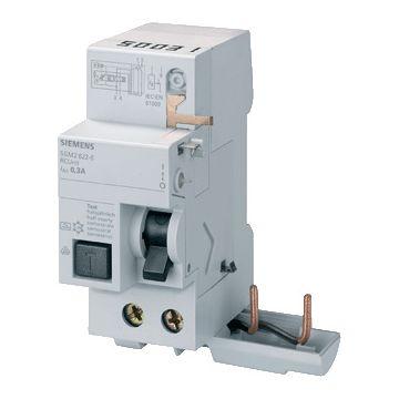 Siemens 5SM2 aardlekblok, nom. spanning 230-400V, nom. stroom 16A, nom. foutstroom
