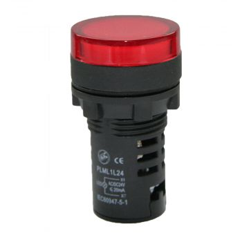 Epp signaallamp, 1 signaallampen, uitvoering fitting LED, met lichtbron, nom.