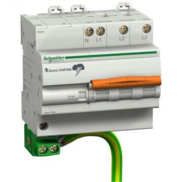 Schneider Electric met Domae netoverspanningsbeveiliging, netvorm TT, uitvoering