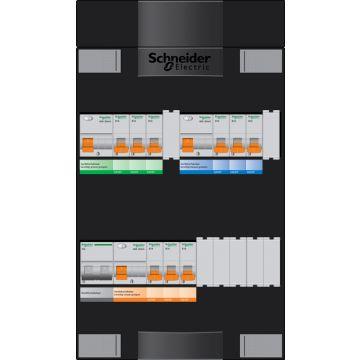 Schneider Electric met ADV G installatiekast, (hxbxd) 380x220x100mm 1 fasen