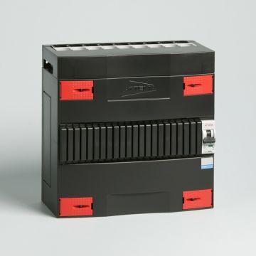 Attema Click-mate XL-plus XLA installatiekast, (hxbxd) 220x220x100mm 1 fasen