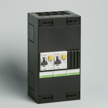 Attema Click-mate XL-plus XL115 installatiekast, (hxbxd) 220x115x90mm 1 fasen