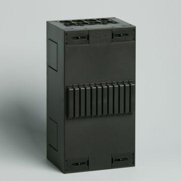 Attema Click-mate XL-plus XLL115 installatiekast leeg, zwart, (hxbxd) 220x115x90mm
