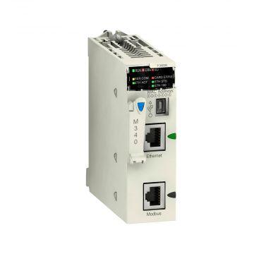 Schneider Electric T Modicon M340 plc basiseenheid modulair, spanningstype
