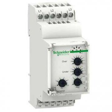 Schneider Electric T Zelio Control fasebewakingsrelais, (bxhxd) 35x90x72mm