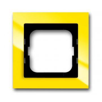 Busch-Jaeger Busch-axcent afdekraam 1-voudig, geel