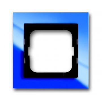 Busch-Jaeger Busch-axcent afdekraam 1-voudig, blauw