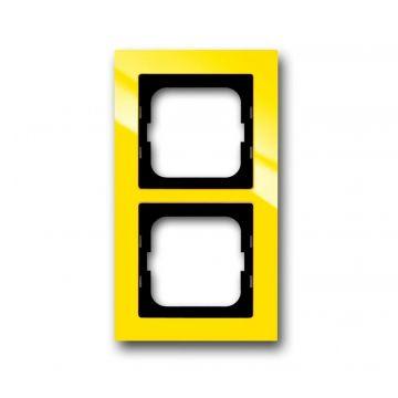 Busch-Jaeger Busch-axcent afdekraam 2-voudig, geel