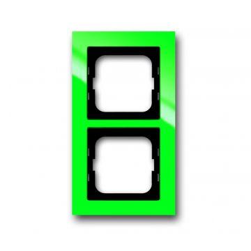 Busch-Jaeger Busch-axcent afdekraam 2-voudig, groen