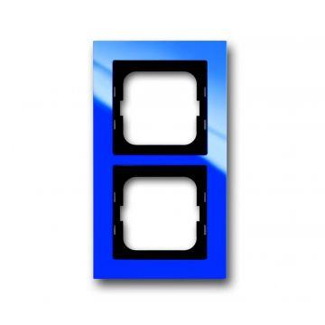 Busch-Jaeger Busch-axcent afdekraam 2-voudig, blauw