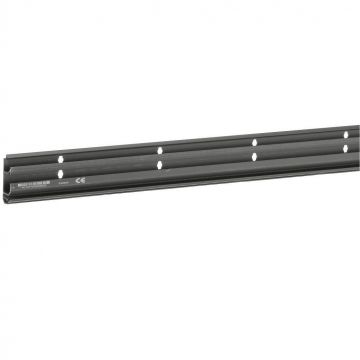 Hager tehalit SL plintgoot basisdeel, kunststof, zwart, hoogte 55mm diepte 20mm