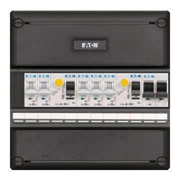Eaton Systeem 55 installatiekast, (hxbxd) 220x220x79mm 1 fasen
