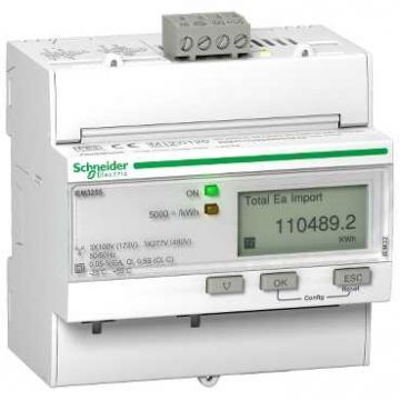 Schneider Electric met IEM3100/3200 elektriciteitsmeter, type meter elektronisch