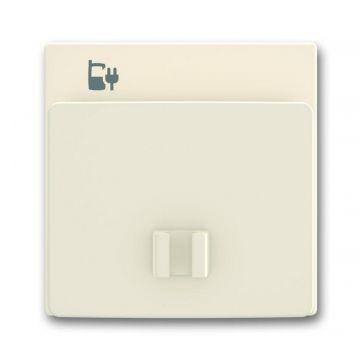 Busch-Jaeger Solo USB-laadstation 6474 U, ivoorwit